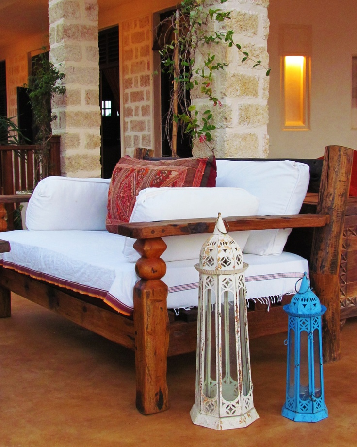 Beautiful Dhow Wood Furniture Dream Home Pinterest