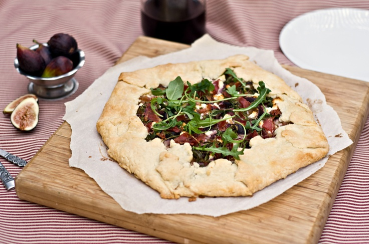 Fig and Goat Cheese Galette