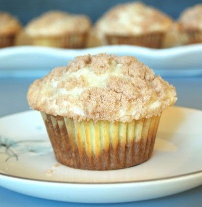 Banana Cream Cheese Muffins | Breakfast | Pinterest