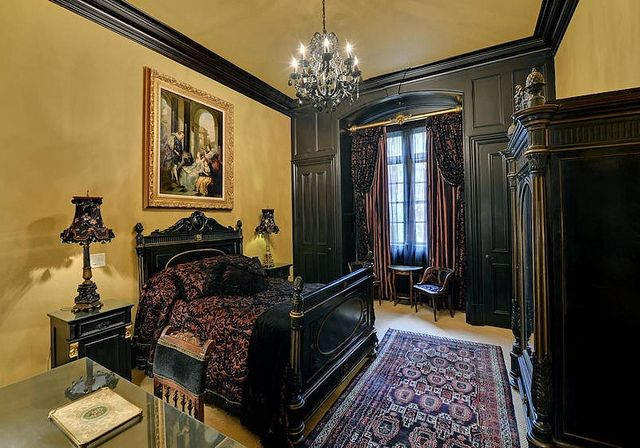 Old world bedroom victorian and gothic interior style pinterest