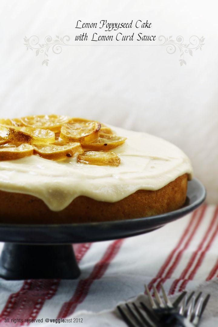 lemon poppyseed cake | Food | Pinterest