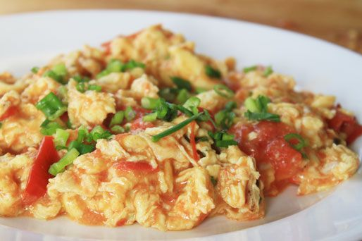 Stir-Fried Tomato with Eggs | Food | Pinterest