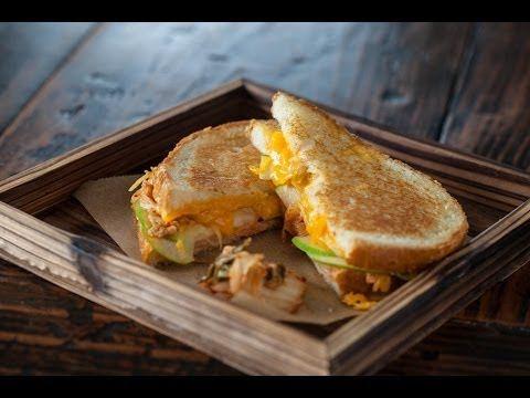 Grilled Kimcheese Sandwich | Sandwiches / Bread / Bruschetta | Pinter ...