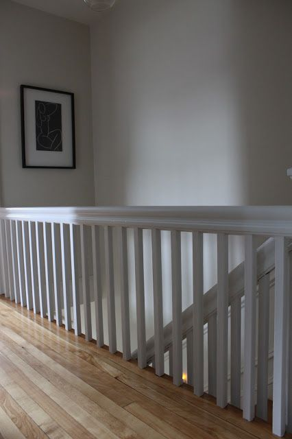 Best Stair Banister White Grey Home Pinterest 400 x 300