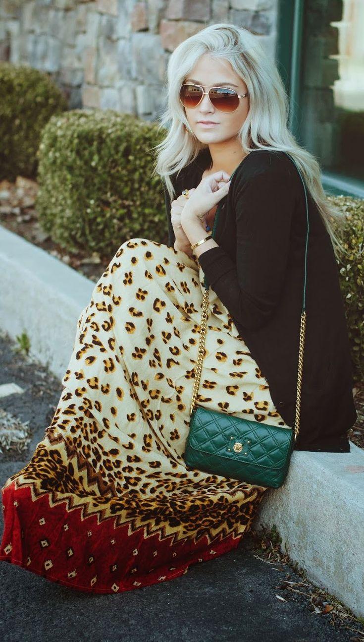 Minkpink Leo Print Maxi Dress by Cara Loren