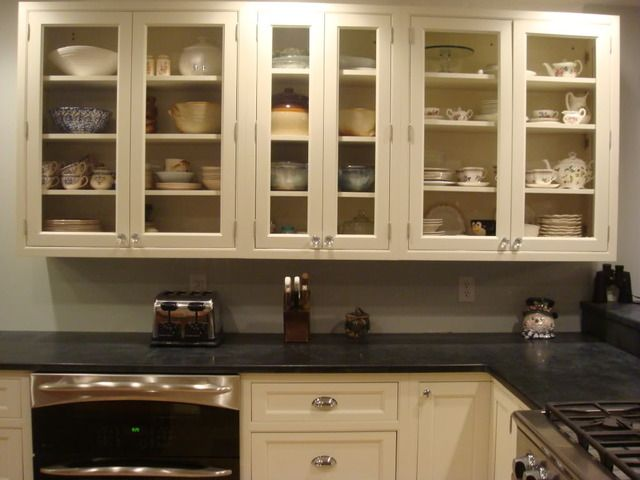 Benjamin moore lemon ice coveted colors pinterest - Cream white kitchen cabinets ...