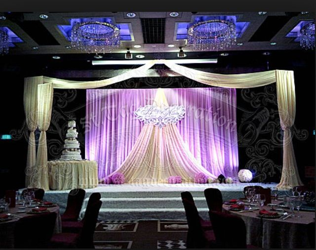 Wedding stage backdrop decor casamento pinterest for Backdrops for stage decoration