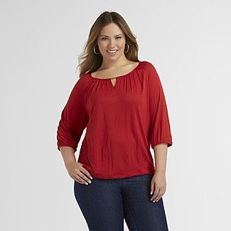 Beverly Drive Women s Peasant Top - Clothing