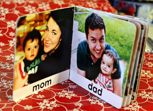 Pintsizepro.com--personalized board book... With pictures of family or friends!