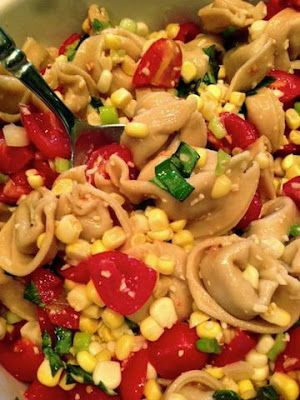 Cheese Tortellini Pasta Salad | Time to Cook a Feast..... | Pinterest