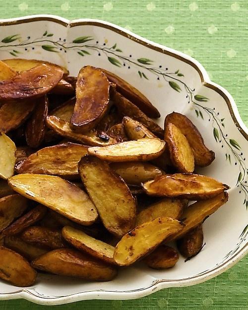 Martha Stewart - Rich Roasted Potatoes Recipe