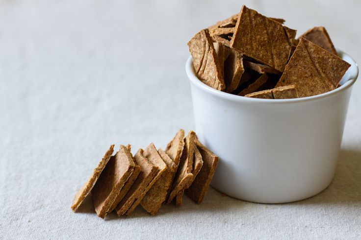 Smoked paprika almond pulp crackers. A great way to use up almond pulp ...