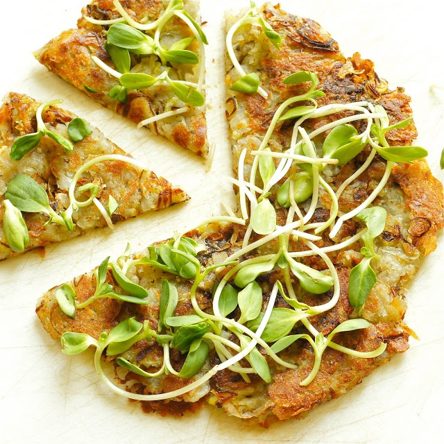 Thyme: Potato and Leek Galette...and Listening