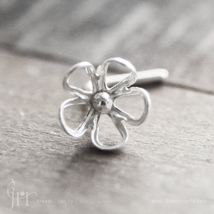 how cute is this.. nose ring :) | Piercings nose | Pinterest