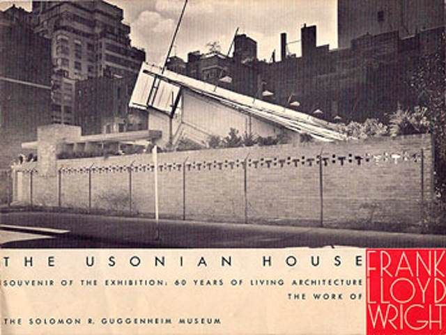 Two frank lloyd wright buildings used to stand where the guggenheim is