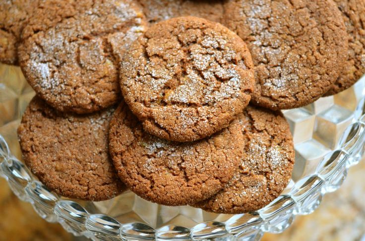 Triple ginger cookies | Baking | Pinterest