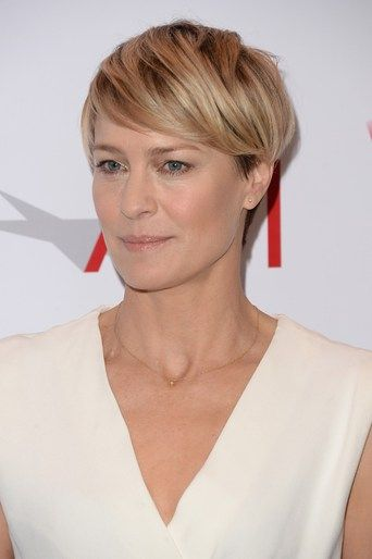 Robin Wright short hair | hair | Pinterest