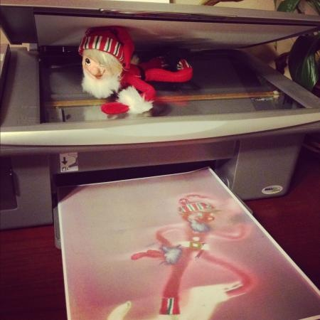 ... Elf on the Shelf photo contest or enter your own elf photo for a