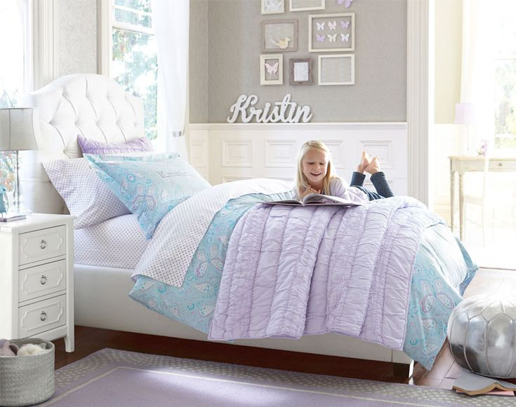 Girls 39 room pottery barn kids for the kids pinterest for Pottery barn kids rooms