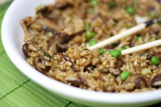 mushroom fried rice | Me Hungry | Pinterest