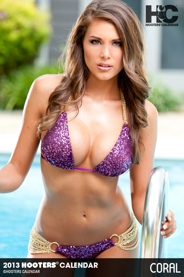 Coral Greaves Hooters Calendar Girl | Sexy Girls | Pinterest