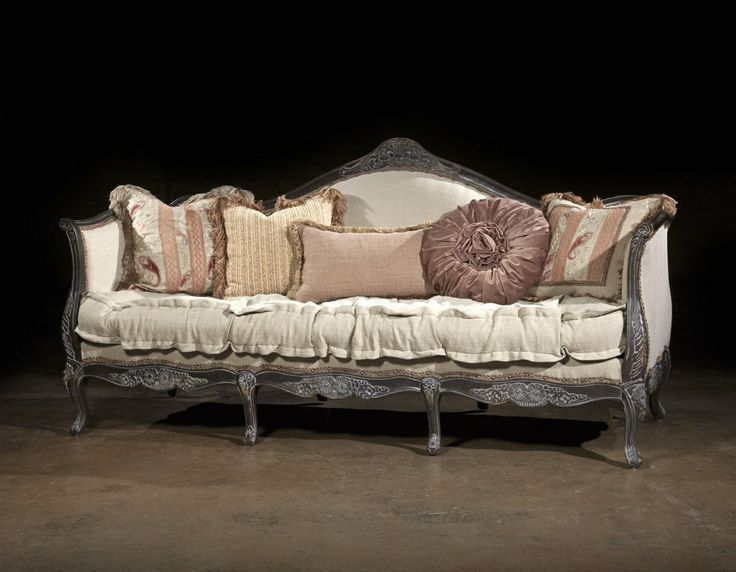 French Style Furniture County French Sofa