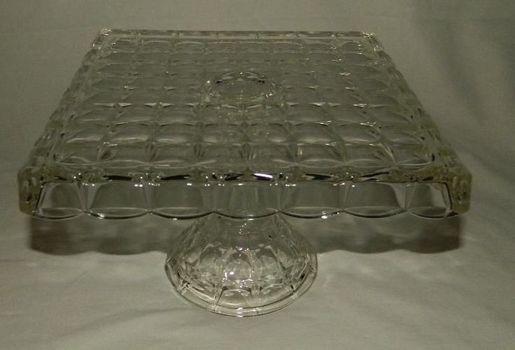 Cake Stand Indiana Glass Constellation