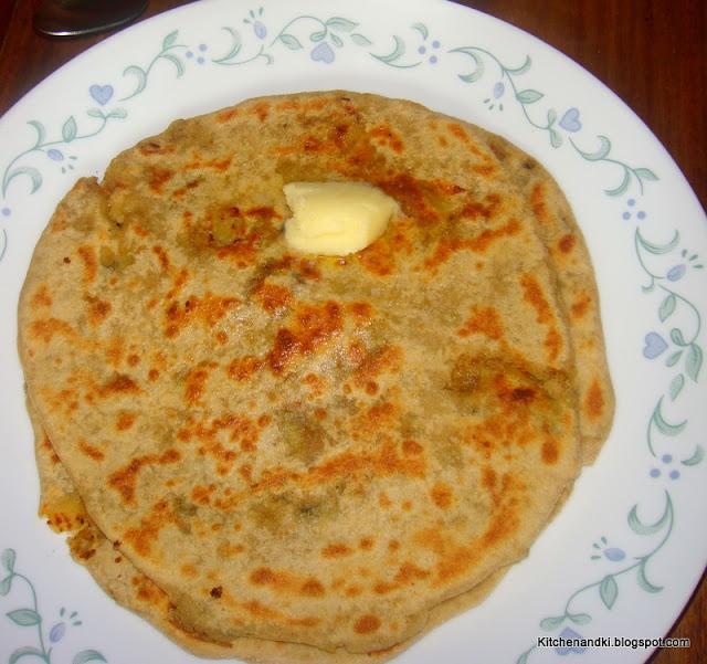 Aloo Paratha/ Potato stuffed flat bread