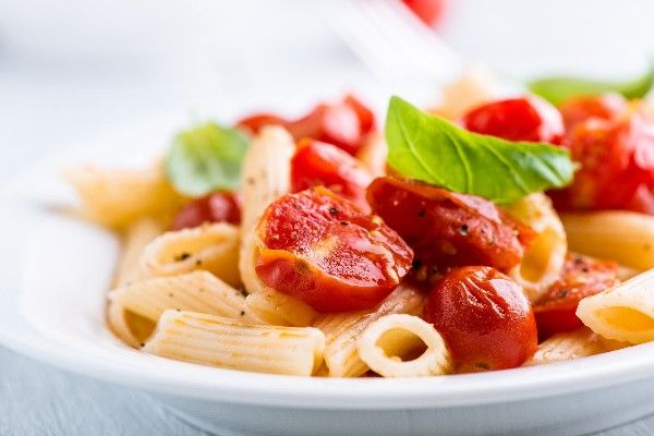 Penne with Mascarpone Cheese and Roasted Cherry Tomatoes #Recipe