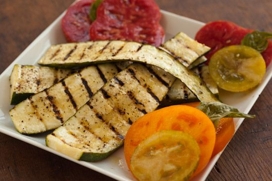 Grilled Zucchini with Lemon and Olive Oil from @Nicole Hamaker ...