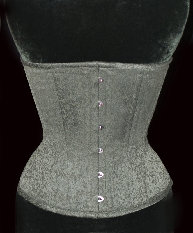 """Adam"" underbust training corset by Meschantes Corsetry, starts at $149"