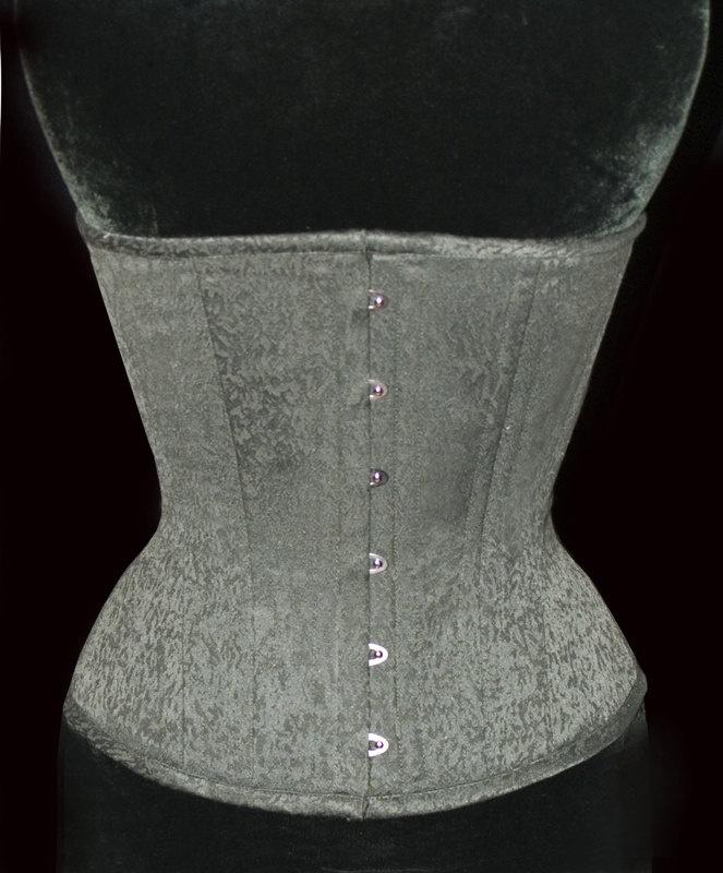 """Adam"" underbust training corset by Meschantes Corsetry, starts at $149"