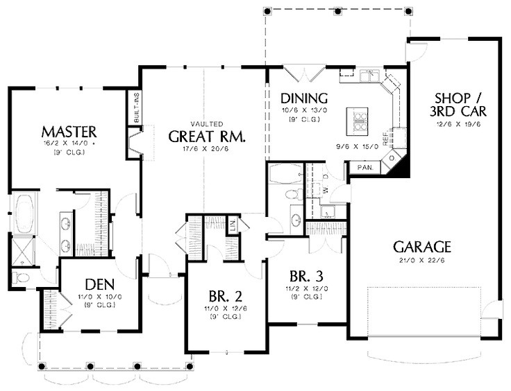 Nice floor plan house plans exteriors pinterest Nice floor plans
