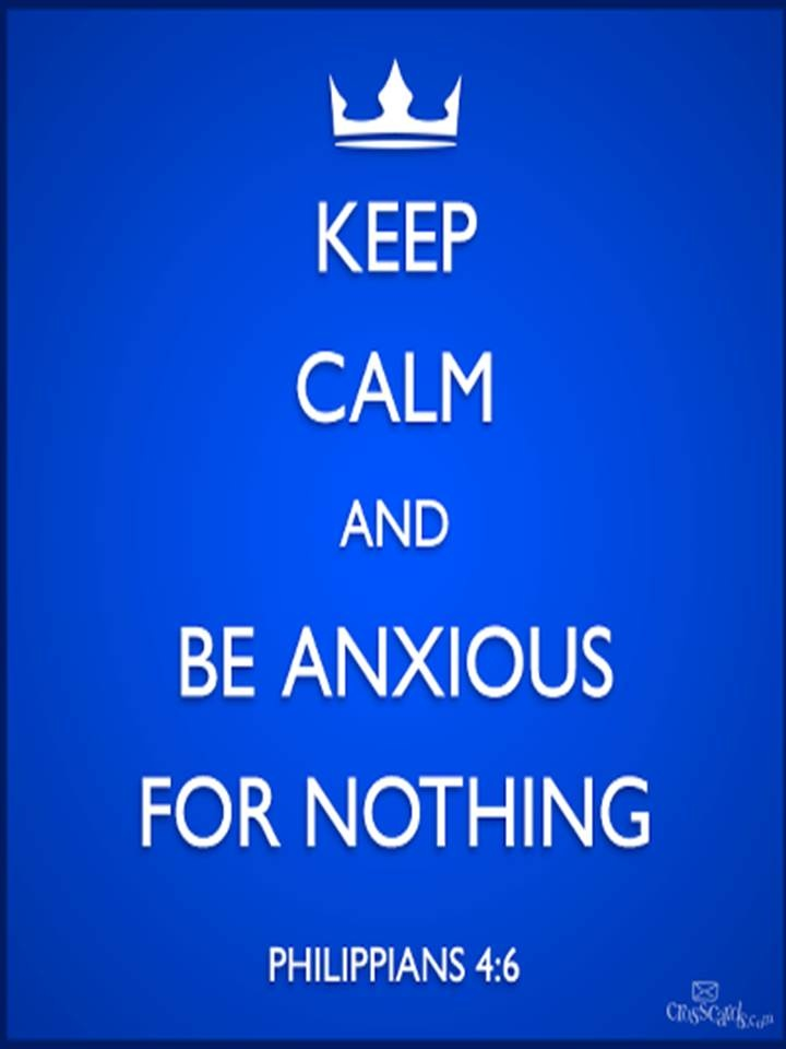 Be anxious for nothing life pinterest