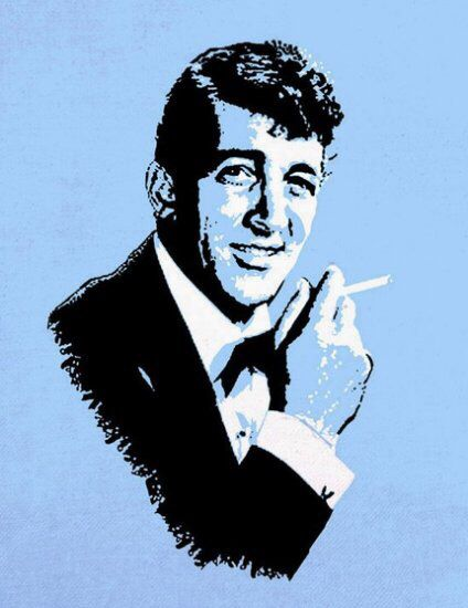 dean martin stencil - photo #3