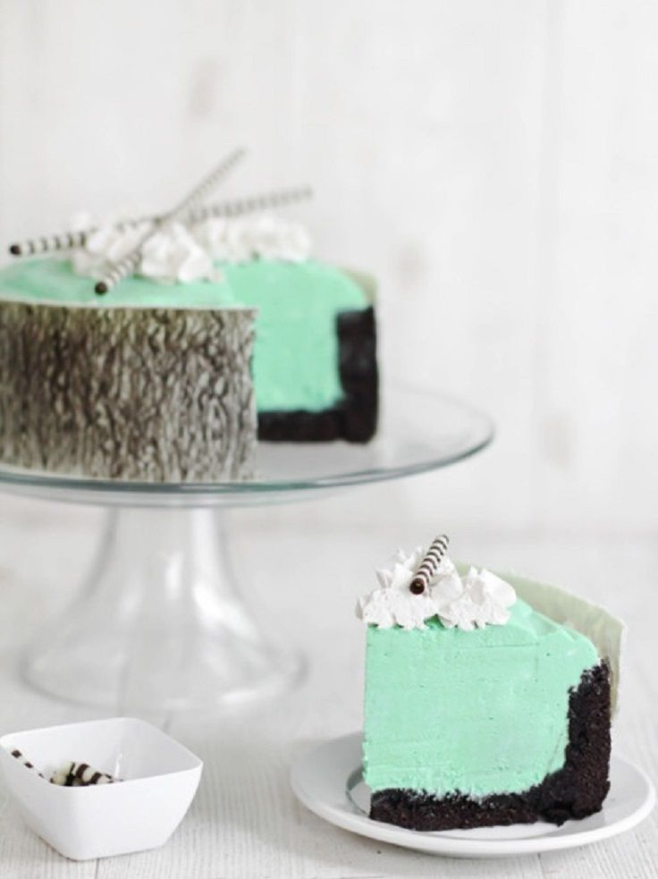 Mint White Chocolate Mousse Cake | Chocolate Mousse | Pinterest