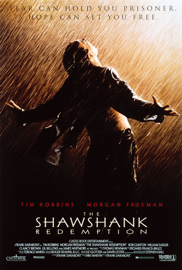 The Shawshank Redemption. Hope is a good thing, and maybe the best ...