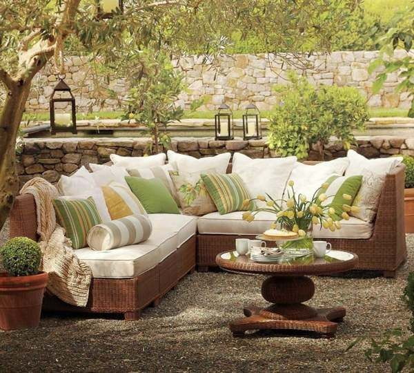 martha stewart patio furniture cushions Easy living