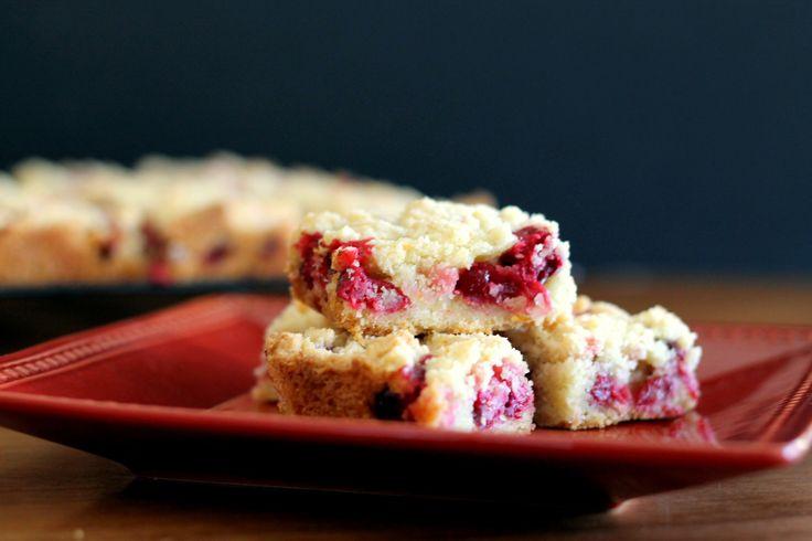 Recipe for Cranberry Crumb Bars | Baking Recipes | The Bakerita