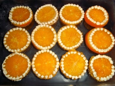 Orange-vanilla bean cupcakes | Recipes I've tried | Pinterest
