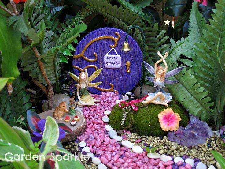 flower fairy garden kit crafts pinterest