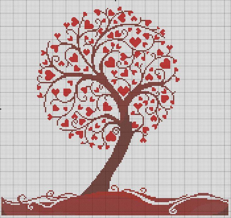 Love tree Heart