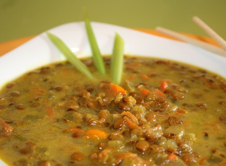 Red Lentils with Coconut Milk | Recipe