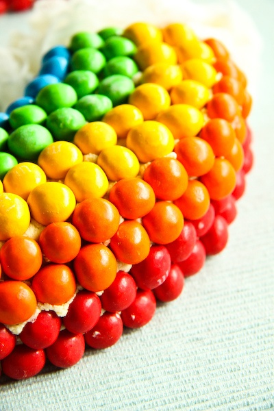 Double Rainbow Malt Cake by raspberri cupcakes, via Flickr