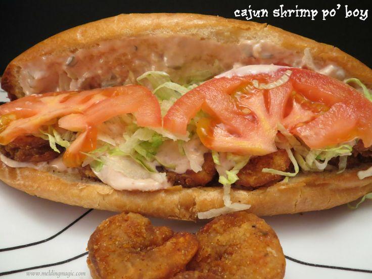 Shrimp Po Boy | Recipes - Sandwiches Melts Wraps Hoagies | Pinterest