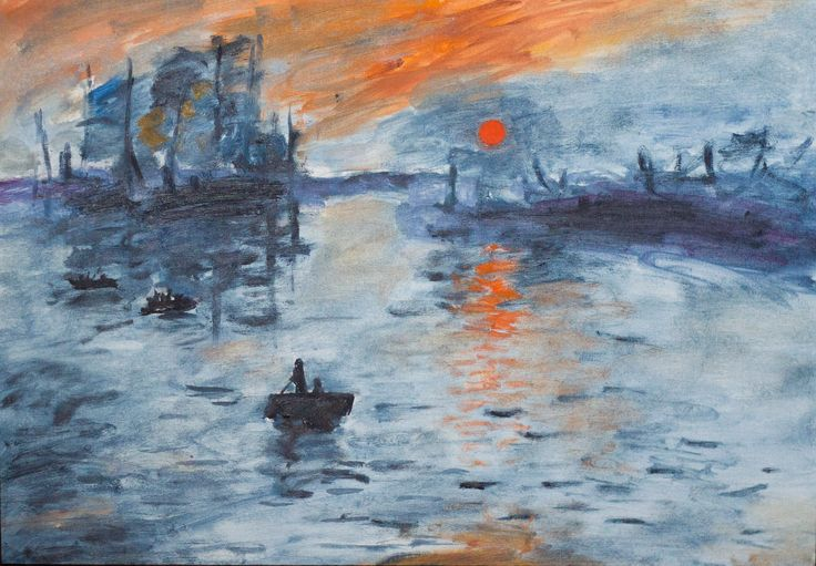 claude monet impression sunrise essay