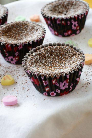 Flourless Chocolate Cupcakes. | PIN YOUR PIN | Pinterest