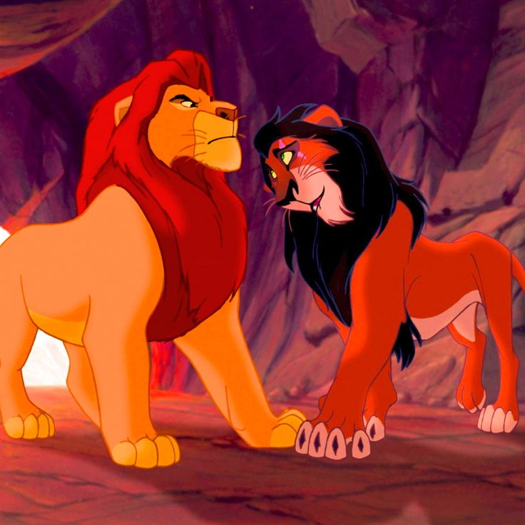 The lion king mufasa and scar - photo#2