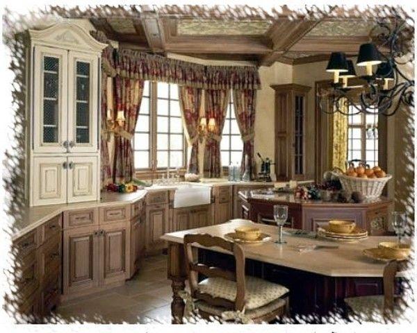 French Country Kitchen KITCHENS I LOVE Pinterest
