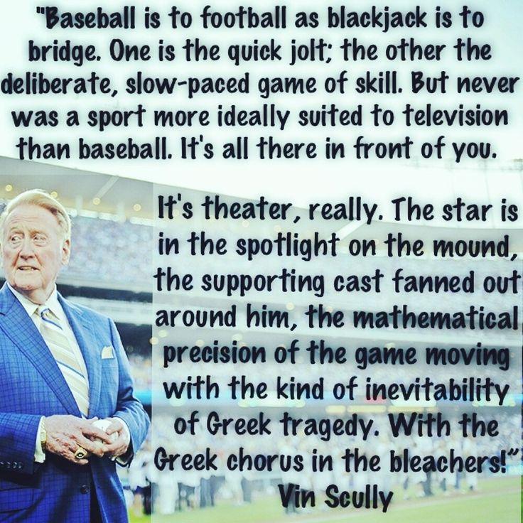 Vin Scully Quotes  Baseball Almanac